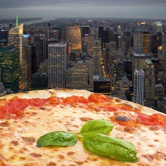 Gratis New York Pizza Door Lek In Website Informatiebeveiliging
